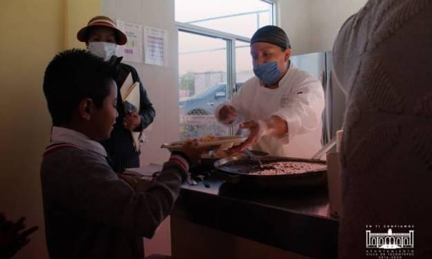 Luis Castañeda preocupado por garantizar sana alimentación a la niñez