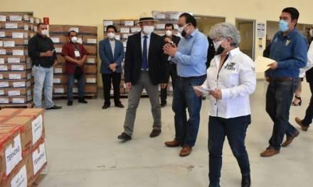 Empresas anunciadas por Fayad realizan donación de insumos médicos en Hidalgo