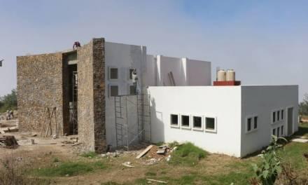 Continúan obras en la Universidad Intercultural del Estado de Hidalgo