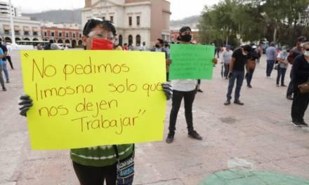 Comerciantes de Mineral de la Reforma denuncian incumplimiento de acuerdos de Raúl Camacho