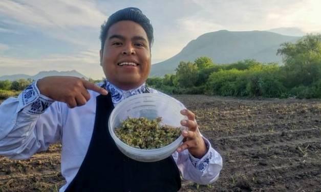 Ñonthe Paredes, youtuber del Valle del Mezquital
