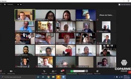 Participan empresarios en foro virtual Unidos Impulsaremos a Hidalgo