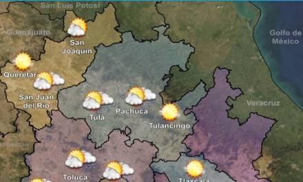 Prevalece ambiente cálido y ventoso en Hidalgo