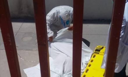 Hombre con COVID-19 se arrojó del tercer piso de Hospital de Tula; murió