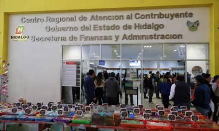 En primer cuatrimestre del año se han recaudado 253 mdp por derechos vehiculares en Hidalgo