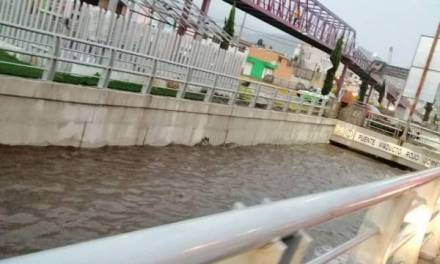 Informan incidentes tras lluvia de esta tarde en zona metropolitana de Pachuca