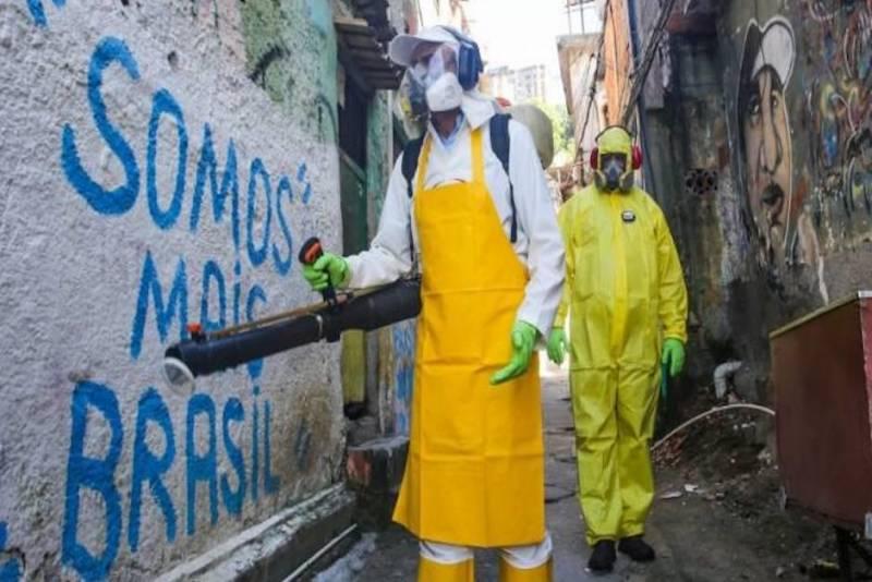 América se ha convertido en el epicentro de la pandemia
