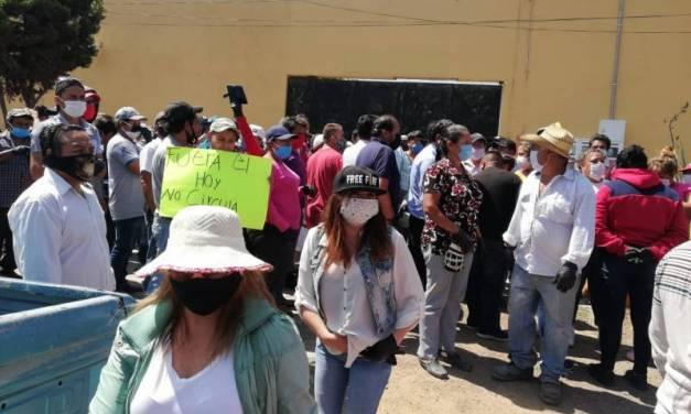 Protestan en Tulancingo contra el Hoy no Circula