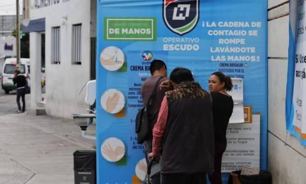 Desataca Hidalgo a nivel nacional en atención al COVID-19