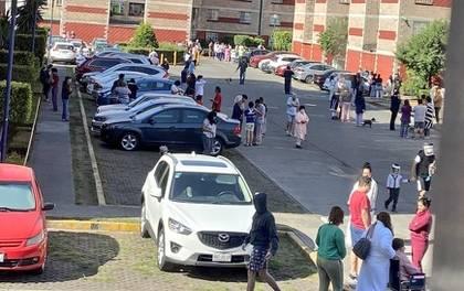 Se registra sismo con epicentro en la Ciudad de México