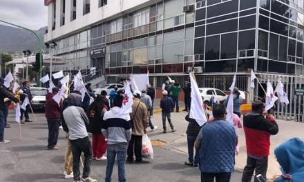 Tianguistas de Actopan piden apoyos al Gobierno estatal