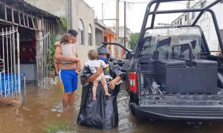 Tormenta tropical Cristóbal deja afectaciones en seis estados de la República