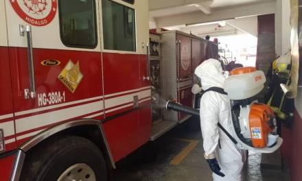 Dos Bomberos de Hidalgo dan positivo a COVID-19