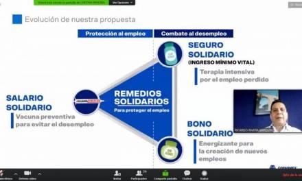Presenta Coparmex estrategia Remedios Solidarios