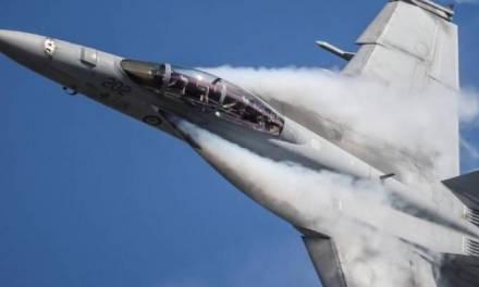 Avión de la Fuerza Aérea de Estados Unidos se estrelló en Reino Unido
