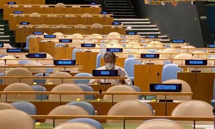 México fue elegido para integrar el Consejo de Seguridad de la ONU