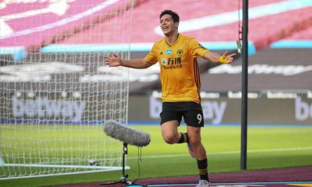 Raúl Jiménez llega a 40 goles con el Wolverhampton