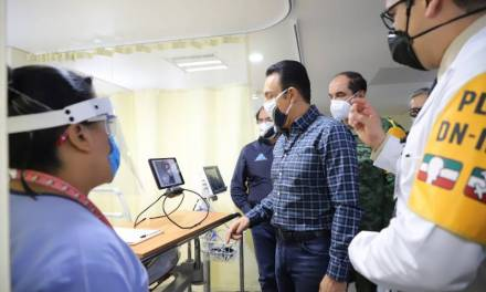 Fayad pone en marcha el Hospital Especializado para la atención del COVID-19