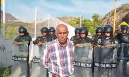 Agricultores se enfrentan a Guardia Nacional en Chihuahua