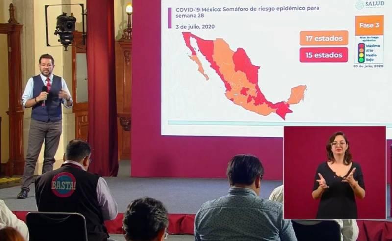 Hidalgo entra a fase naranja; sectores no esenciales podrán retomar actividades