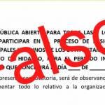Desmienten convocatoria para designación de Concejos Municipales