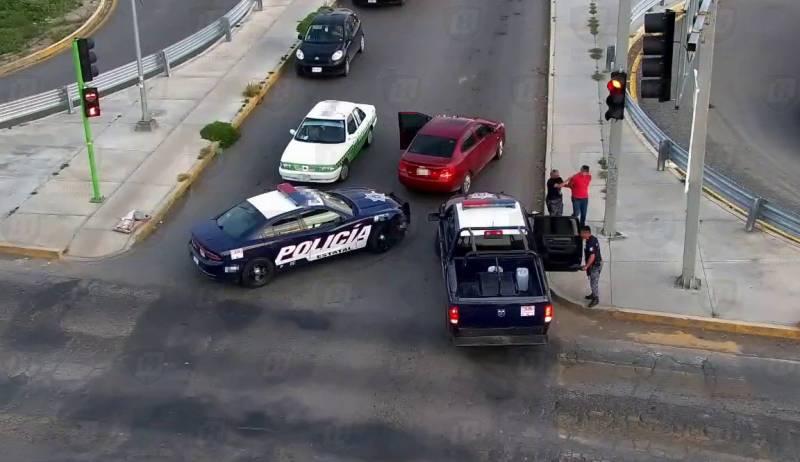 Detienen a una persona por presunto asalto a lavandería en Pachuca