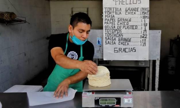 Aproximadamente 2 mil tortillerías en Hidalgo no volverán a abrir por pandemia