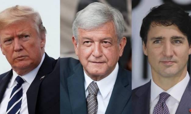 Trudeau declina invitación para reunión con Trump: Amlo