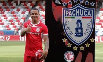 Felipe Pardo, nuevo jugador de los Tuzos del Pachuca