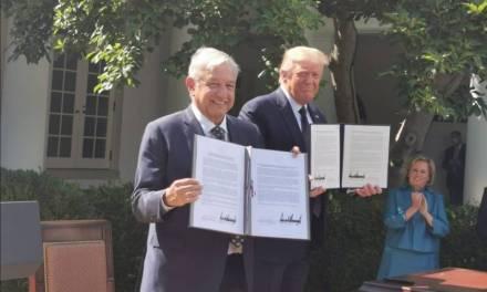 Amlo y Trump destacan buena relación entre México y Estados Unidos