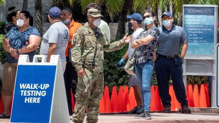 Florida se convierte en el epicentro de la pandemia en Estados Unidos