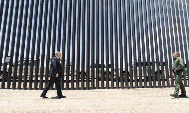 Asegura Trump que a fin de año habrá 724 km de muro construidos