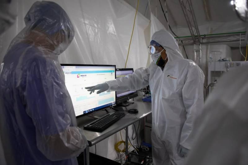 Hidalgo implementa innovador sistema de Telemetría para monitoreo de pacientes COVID-19