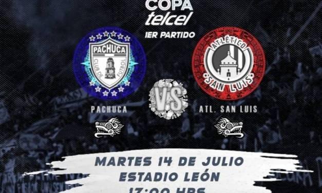 Pachuca arranca participación en Copa Telcel