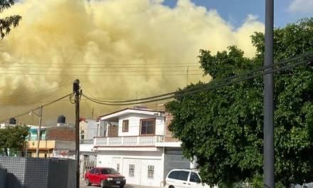 Incidente en refinería de Salamanca causa nube amarilla