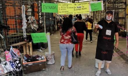 Niega Yolanda Tellería apoyo a locatarios de mercados