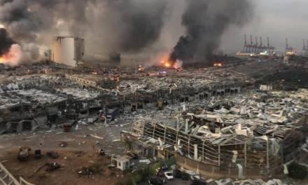 Explosión en Beirut, Líbano, habría sido por artefactos explosivos almacenados