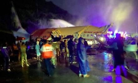 Accidente de avión en India deja al menos 16 muertos