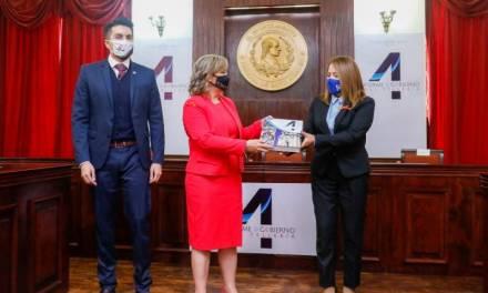 Yolanda Tellería rindió su cuarto informe de gobierno