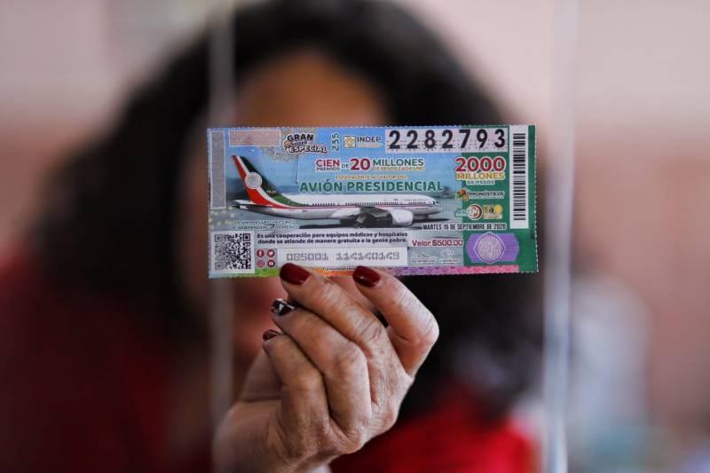 En Hidalgo se han vendido 4 mil 700 boletos para la rifa del avión
