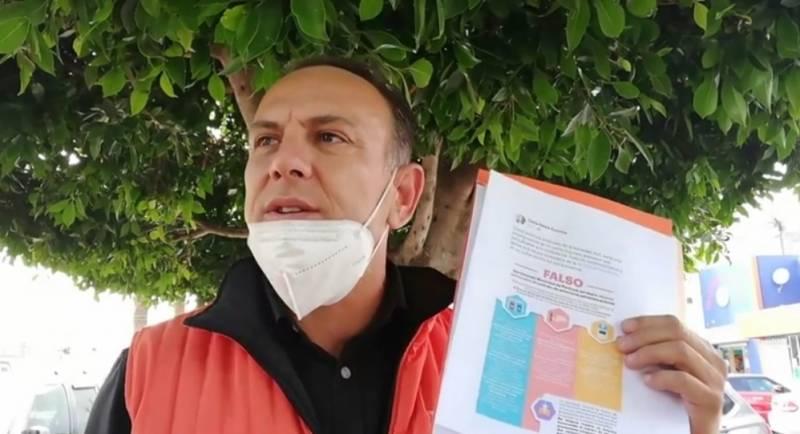 Rubén Muñoz Saucedo se compromete a revisar desempeño del Concejo Municipal Interino