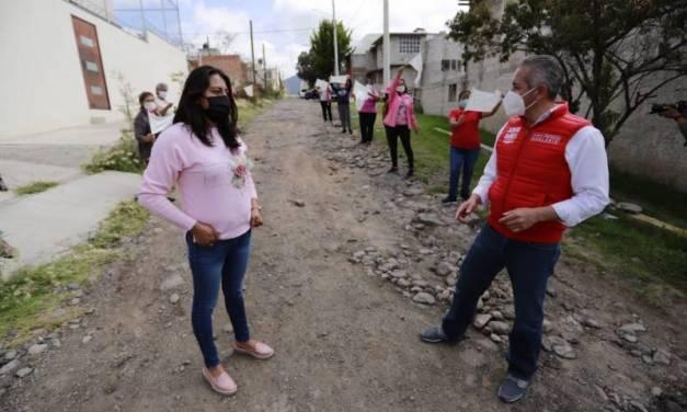 No más colonias marginadas en Pachuca, asegura Sergio Baños