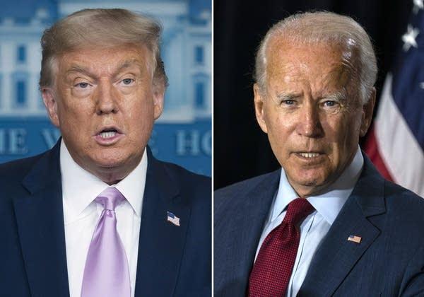 Acusaciones prevalecen en debate de Trump contra Biden