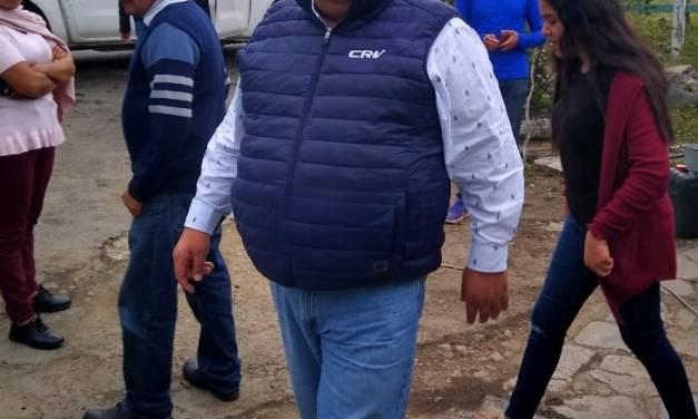 Retiran candidatura a Crisóforo Rodríguez Villegas