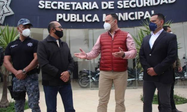 Ángel Francisco Cervantes nuevo secretario  de Seguridad Pública de Pachuca
