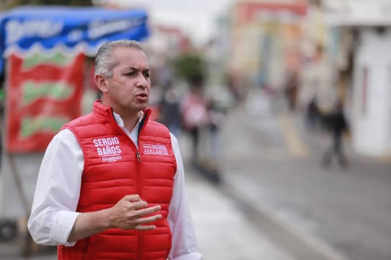 Convoca Sergio Baños a debate presidencial