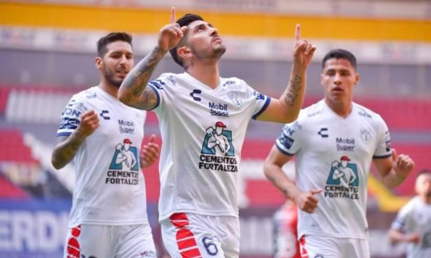Pachuca saca tres puntos del Jalisco