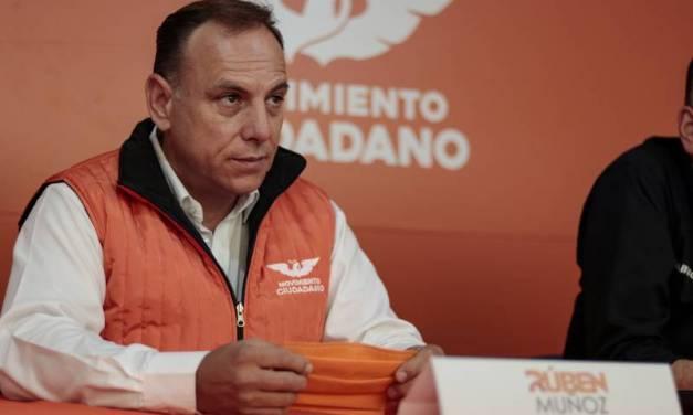 Rubén Muñoz se compromete a no colocar más parquímetros