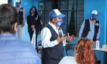 Se compromete Luis Baños a la instalación de una estación de bomberos en MR