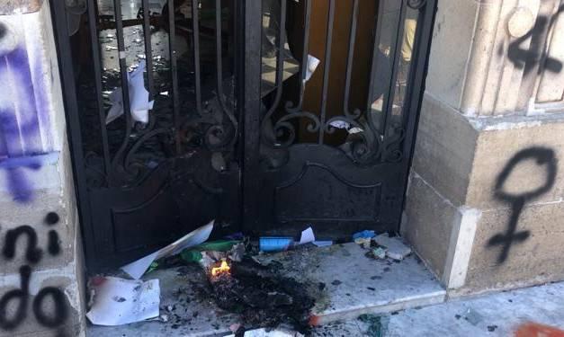 Lamenta Comité del Centro Histórico daños ocasionados al Reloj durante protesta